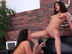 Piss Drinking - Gorgeous girls guzzle down golden piss