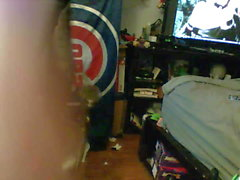 Brown Haired CD Cougar (wecam view)