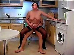 Wife fucked in the kitchen Michaele from 1fuckdatecom
