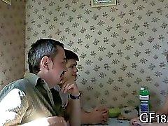 amatör rus genç