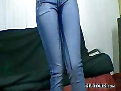 Tight Jeans Female Desperation