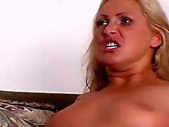 Blonde MILF couldn't get off by herself