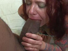 siyah oral seks