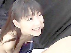 asiático dedilhado japonês pornstar
