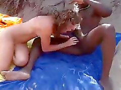Amateurs Fucking Interracial nudist beach