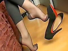 amateur fuß-fetisch nylon strümpfe