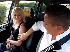 Voyeurs Watching Czech TAXI car in action
