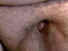 Fat guy with a tiny cock masturbates.