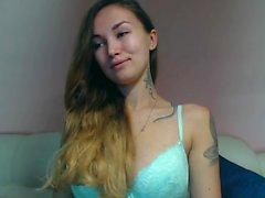 amatör blondin underkläder solo webkamera