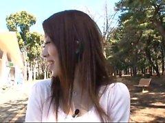 asiatico giapponese all'aperto