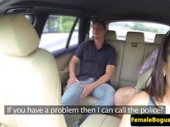 British female taxi driver fucked outdoors