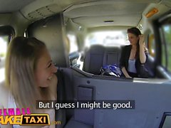 babes divertente grandi tette ungherese female di taxi falsificazione