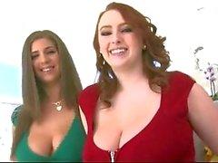 bbw grote borsten brunettes roodharigen