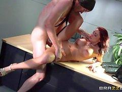 Brazzers Monique Alexender loves big cock