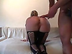 amateur blondine blowjob creampie