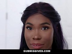 Submissived - Cute Black Teen Manhandled