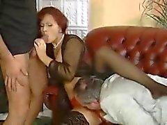 dupla penetração alemão sexo em grupo milfs threesomes
