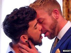 Latin gay flip flop with cumshot