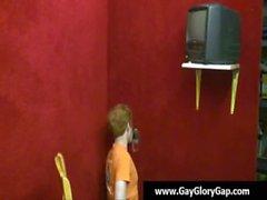 Gay white boys jerking off black dudes - gay handjob and gloryhole 20