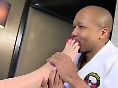 Amanda learns karate sex with black dude