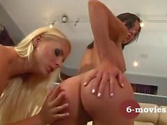 my-sexy-place - Blonde and Brunette Private Lesbian Sex