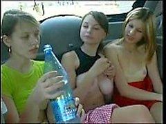 Russian prostitutes in car