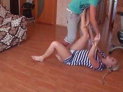 levantar contra entrega músculo de chicas ruso amateur