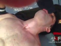 rawfuckclub zucht ohne sattel papa muskel
