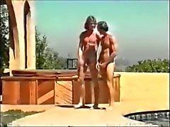 бисексуалов двойное проникновение групповой секс