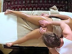 bébé blond érotique hd massage