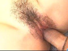 asiatico creampie tastare peloso hardcore