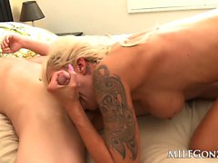 big boobs blondine blowjob hardcore
