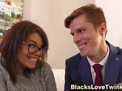 homosexuell amateur blowjob interracial