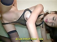 Undemanding Brown Eyed Asian Anal