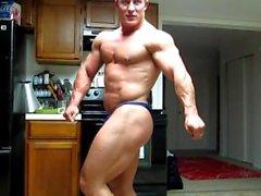 ass - posing bodaaja lihas homo