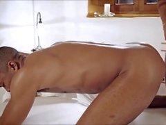 grupo de estilo espeto sexual galo assado chupar anal petróleo
