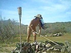amateur asiático desnudez pública