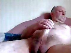 oldman masturbate