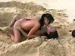 strand publieke naaktheid tieners voyeur