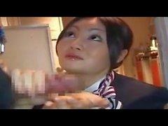 chinesisch flugzeug handjob stewardess