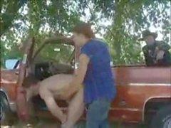 Horny cop