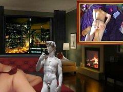 homosexuell amateur gähnend masturbation voyeur