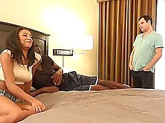 Hot Black Wife Makes Hubby Eat Black Cum From Her