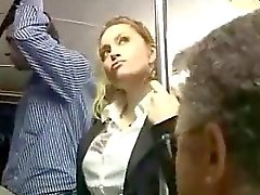 publiek misbruikt bus