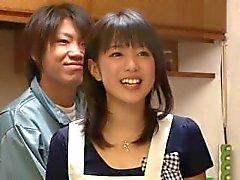 aasialainen japanilainen milf house - vaimo