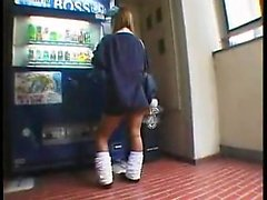 Cute schoolgirl shows her hot body and gets her cunny finge