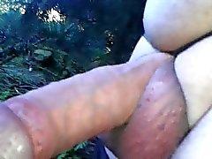 a nylon stocking tied round my balls
