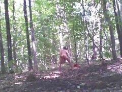 Forest voyeur jerking off #11