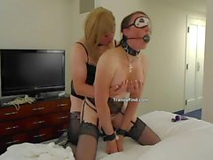 Crossdresser punishment
