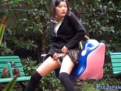 anal fetiche hd japonés al aire libre